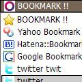Ajaxのソーシャルブックマークボタン SHA-RING.NET