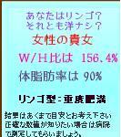 ブログパーツ 【体脂肪計算】