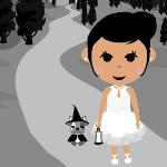 ドクロ時計 - Rina celebrates Halloween