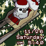ぺそぎん・クリスマス「ソリ」