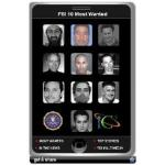 FBI 10 Most Wanted Widget