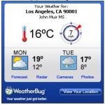 Weatherbug.com Weather Widget