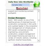 Daily Jobs Widget