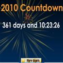 2010 Countdown Widget
