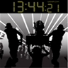 Dance Party Clock Widget