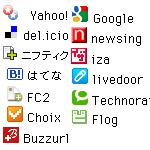 簡単ソーシャルブックマークfor被リンク.info
