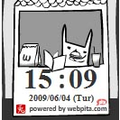 Rabbit Clock Widget