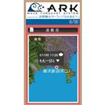 波情報ブログパーツ「ARK」