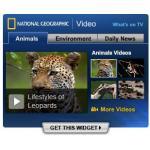 ナショナル・ジオグラフィックのビデオブログパーツ