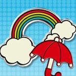 デコレーションウィジェット Rainbow